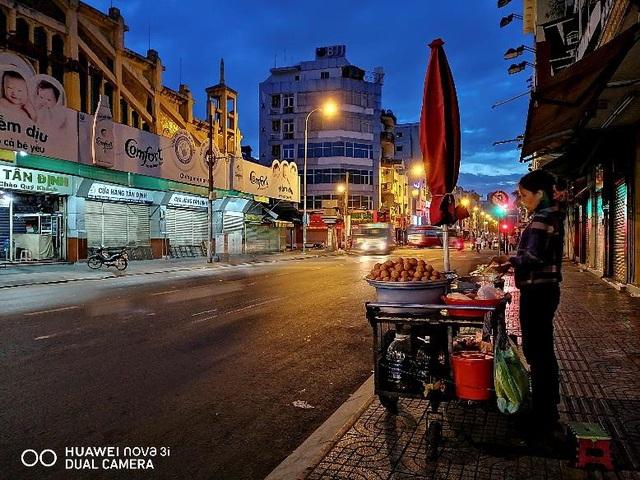 Một bức ảnh chụp đêm từ Huawei Nova 3i
