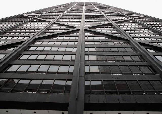 Tòa nhà cao tầng 875 North Michigan Avenue. (Ảnh: Independent)