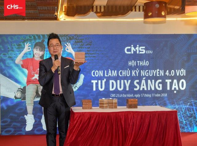 Ông Lee Chung Koog- Phó chủ tịch Hiệp hội Olympiad Toán học thế giới WMO