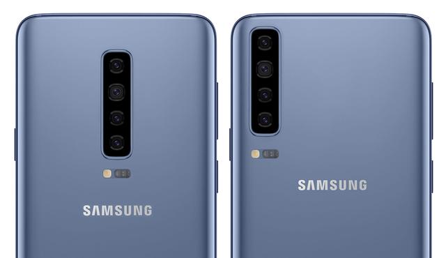 Galaxy S10 sẽ được trang bị 4 camera ở mặt sau và vẫn được bố trí theo chiều dọc (Ảnh minh họa)