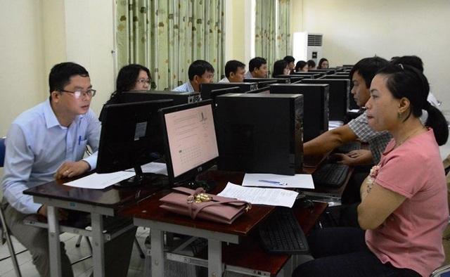 Tỉnh Quảng Ngãi đã tổ chức thành công kỳ thi thăng hạng giáo viên bằng hình thức trắc nghiệm trên máy tính.