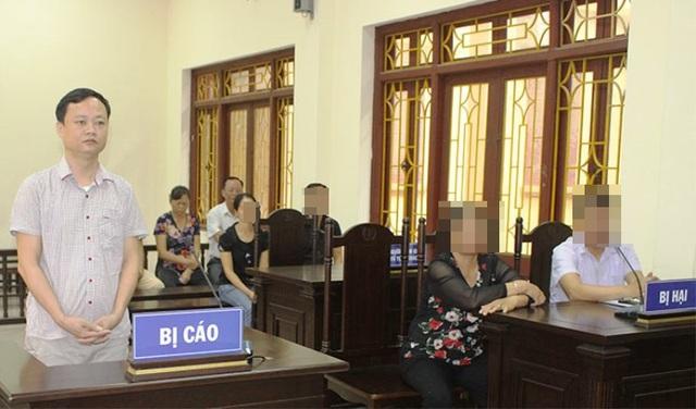 """Bị cáo Dương Anh Tuấn bị TAND tỉnh Hà Nam tuyên phạt 21 năm tù về tội danh """"Lừa đảo chiếm đoạt tài sản"""" và """"Lạm dụng tín nhiệm chiếm đoạt tài sản"""" (ảnh: Báo Hà Nam)"""