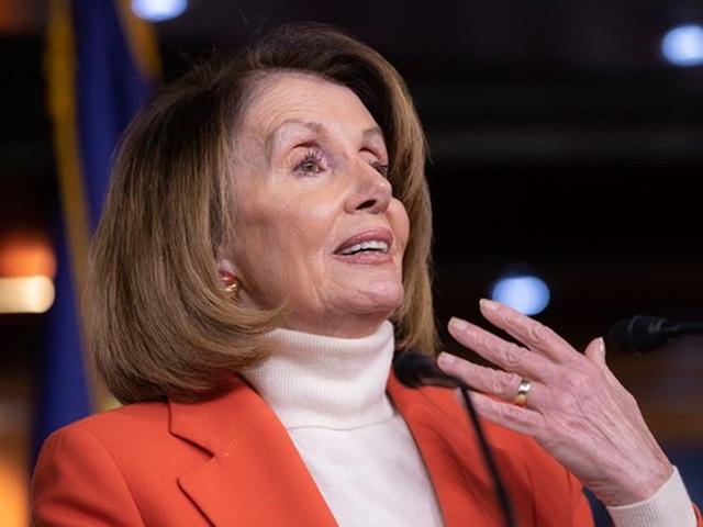 Bà Nancy Pelosi dù 78 tuổi vẫn là ứng viên tiềm năng nhất cho ghế chủ tịch Hạ viện khi đảng Dân chủ chưa có người tầm cỡ tương đương thay thế. Ảnh: AP
