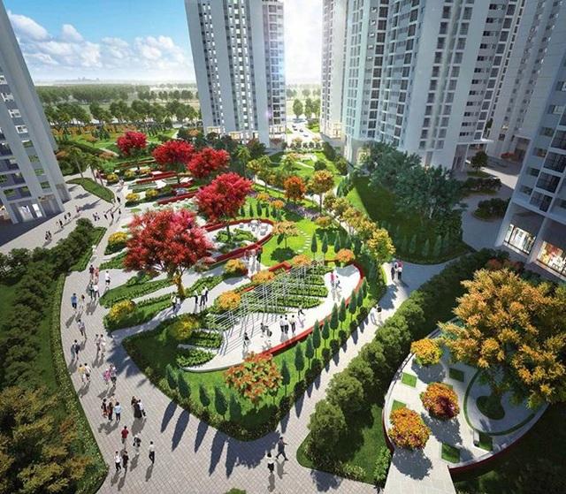 Công viên 6 giác quan – nới diễn ra các sự kiện văn hóa, thể dục thể thao của các gia đình cư dân khu đô thị Hồng Hà Eco City