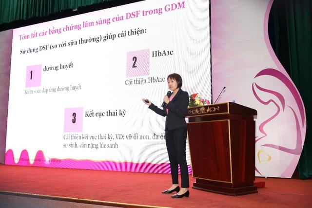 Tiến sĩ Yen Ling Low trình bày về dinh dưỡng liệu pháp trong quản lý ĐTĐTK