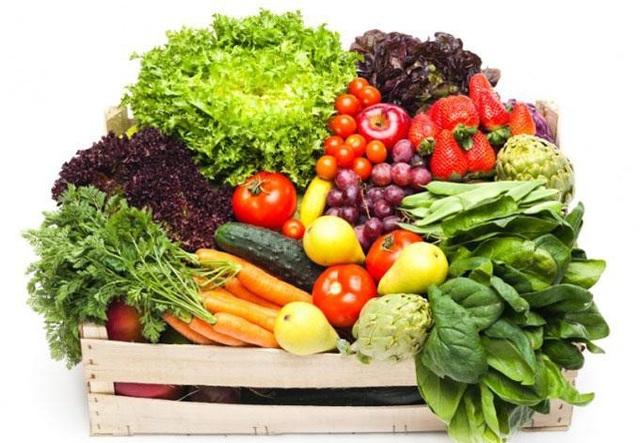 Ăn nhiều rau xanh, trái cây là lời khuyên hữu ích giúp phòng ngừa suy thận