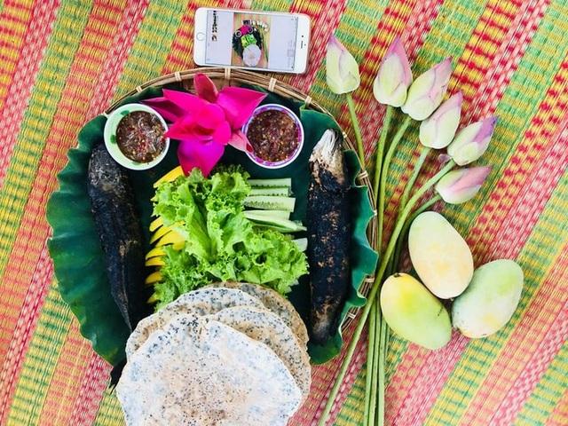 Ẩm thực mang đậm hương vị đồng quê tại khu du lịch