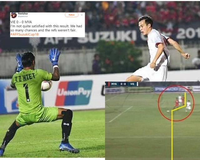 Nhiều ờ báo châu Á cho rằng trọng tài đã sai khi từ chối bàn thắng của Văn Toàn
