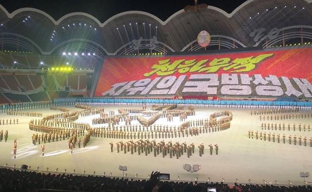 Sân vận động thủ đô với các sự kiện kỷ niệm 70 năm lập quốc