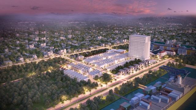 Toàn cảnh dự án Harbor Center tại khu đô thị Phú Mỹ