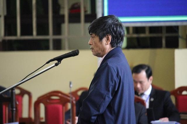 Bị cáo Nguyễn Thanh Hóa tại tòa chiều 22/11.