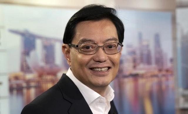 Ông Heng Swee Keat, hiện đang là Bộ trưởng Tài chính Singapore, nhiều khả năng sẽ kế nhiệm Thủ tướng Lý Hiển Long (Ảnh: Bloomberg)
