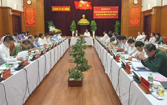 Đoàn Kiểm tra số 1 của Ban Chỉ đạo Trung ương về phòng chống tham nhũng công bố quyết định thành lập đoàn công tác và kế hoạch làm việc tại Đà Nẵng chiều 22/11