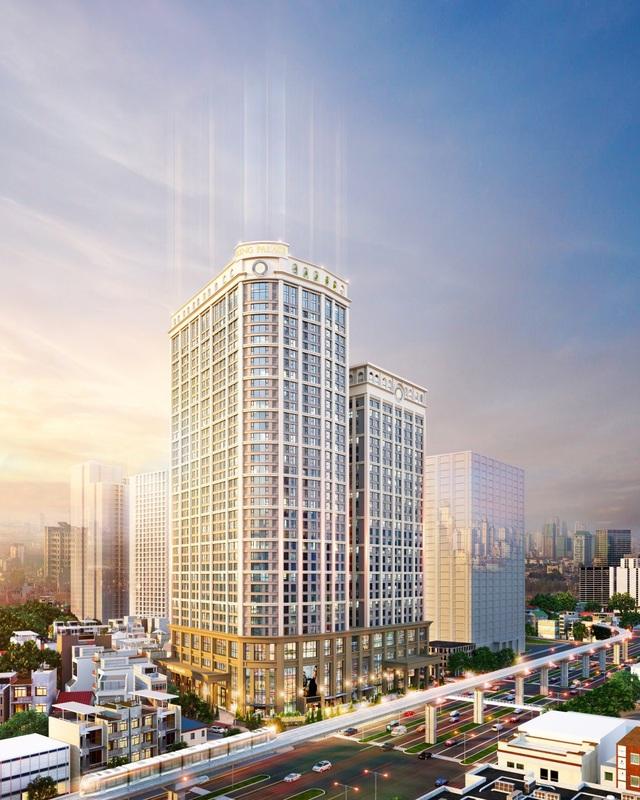 King Palace là dự án được đánh giá cao nhờ ứng dụng các công nghệ hiện đại