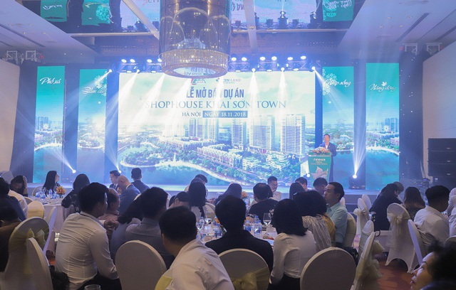Khai Sơn Town thu hút nhiều khách hàng tìm kiếm và đặt mua