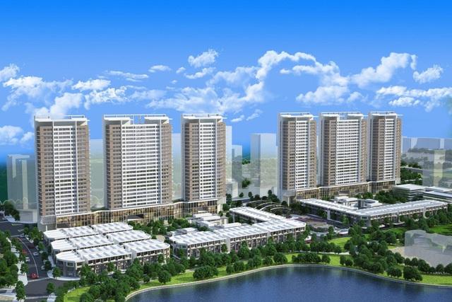 """Khai Sơn Town– dự án """"hot"""" của quận Long Biên"""