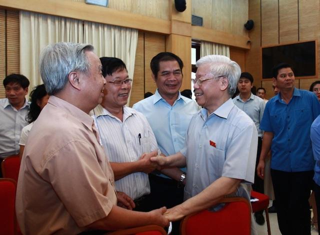 Tổng Bí thư - Chủ tịch nước Nguyễn Phú Trọng ứng cử tại quận Ba Đình, Hoàn Kiếm, Tây Hồ (Hà Nội)