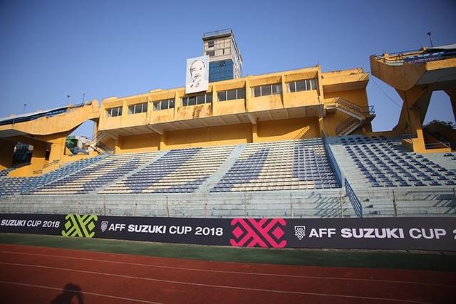 Sân Hàng Đẫy đẹp không kém Mỹ Đình trước trận Việt Nam - Campuchia - 5