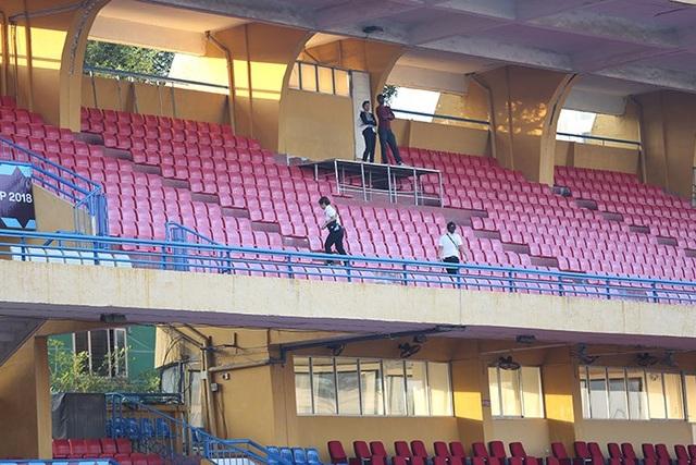 Hàng ghế cũng được làm mới để phục vụ khu VIP