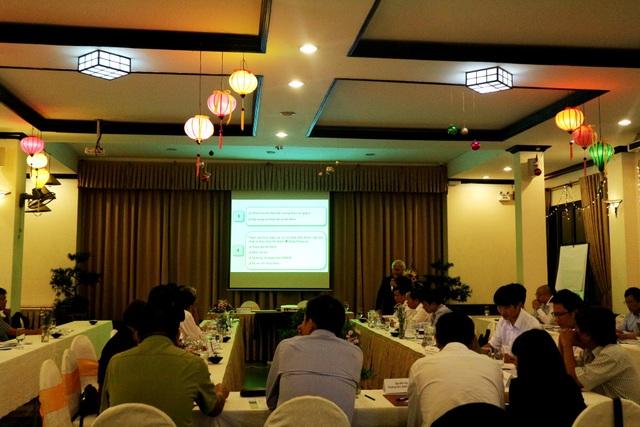 Buổi họp bàn thí điểm chính sách chi trả dịch vụ hấp thu và lưu giữ cac-bon của rừng (C-PFES) thuộc hai tỉnh Quảng Nam và TT.Huế
