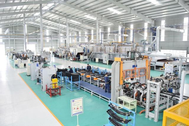 Dây chuyền sản xuất tại NM Nhíp