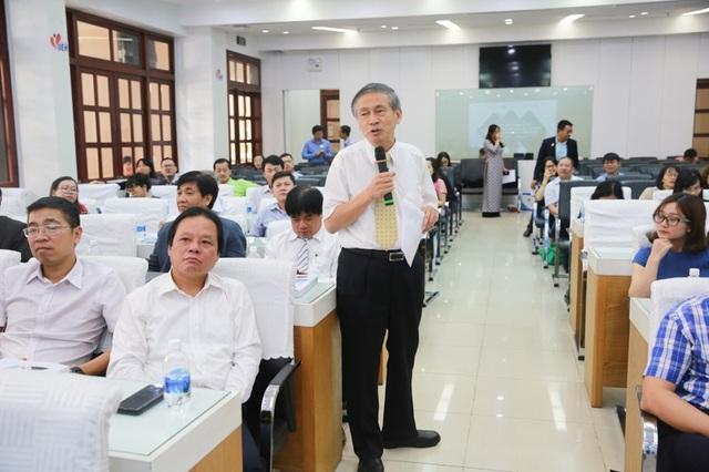 Nhiều chuyên gia có kinh nghiệm hoạt động ở nước ngoài cũng tham gia đóng góp.