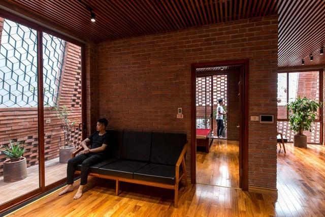 Nhà Hang Gạch nhận giải WAN ngôi nhà của năm 2018 - 13