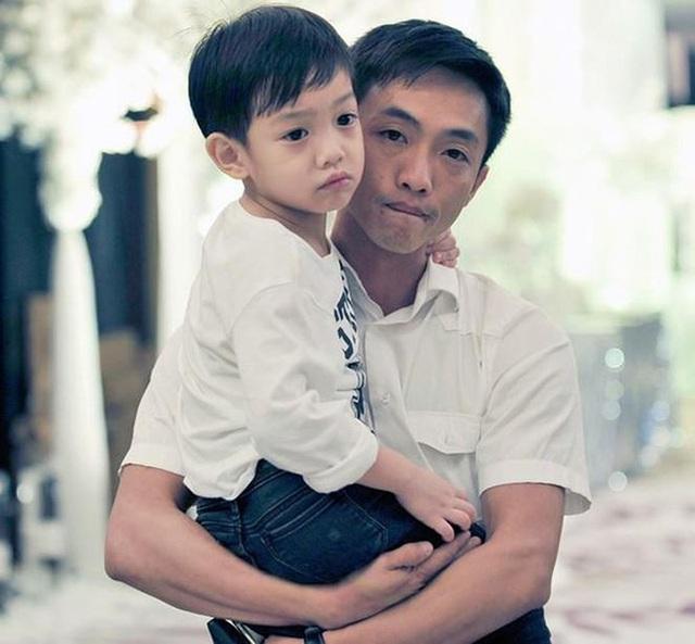 Cường Đô la và con trai Subeo.