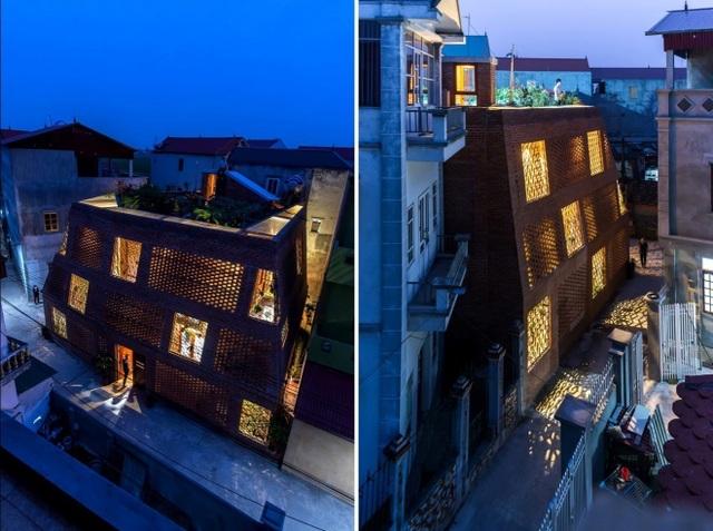 Nhà Hang Gạch nhận giải WAN ngôi nhà của năm 2018 - 5