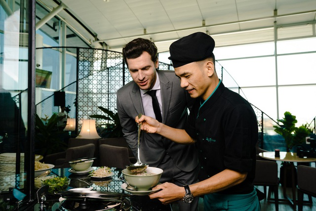 Ẩm thực Le Saigonnais sẽ làm hài lòng hành khách yêu thích khám phá ẩm thực địa phương