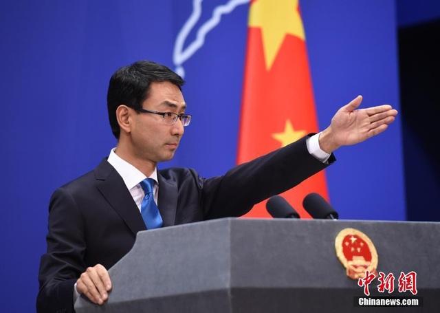 Người phát ngôn Bộ Ngoại giao Trung Quốc Cảnh Sảng. (Ảnh: China News)