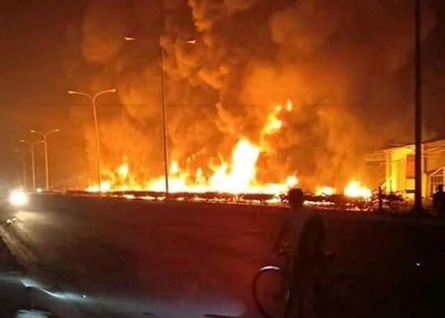Thời gian qua xảy ra một số vụ tai nạn giao thông nghiêm trọng do xe chở xăng dầu