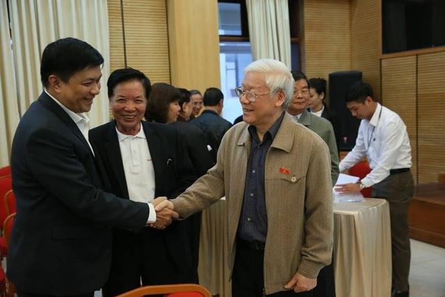 Tổng Bí thư, Chủ tịch nước Nguyễn Phú Trọng tiếp xúc cử tri quận Hoàn Kiếm