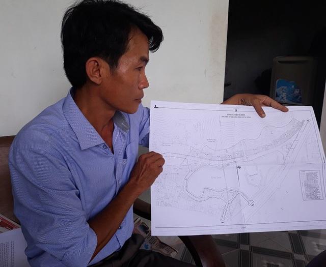 Nhiều người cho rằng, chính quyền không công khai bản đồ quy hoạch dự án này.