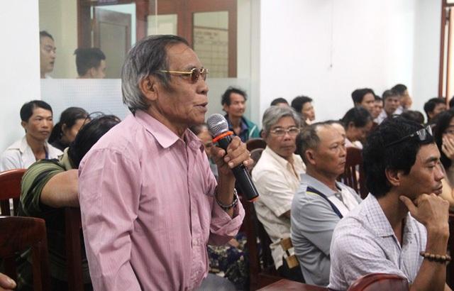 Cử tri phường Lê Hồng Phong ý kiến xung quanh dự án đường Hoàng Văn Thụ nối dài còn nhiều bất cập.
