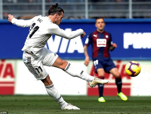 Bale đã có một trận đấu đáng quên