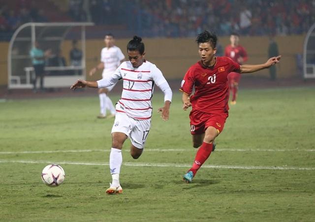 Campuchia có phần lúng túng sau khi bị dẫn 2 bàn