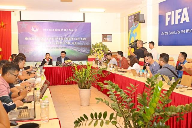 Đại hội VFF khóa 8 ấn định tổ chức vào ngày 8/12 - Ảnh: Gia Hưng