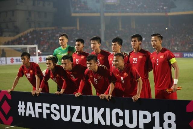 11 cầu thủ đá chính của đội tuyển Việt Nam trước Campuchia