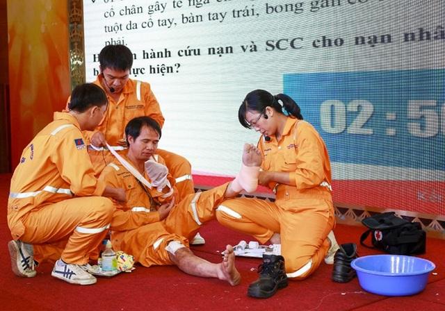 PVGas tổ chức diễn tập PCCC và cứu hộ cứu nạn