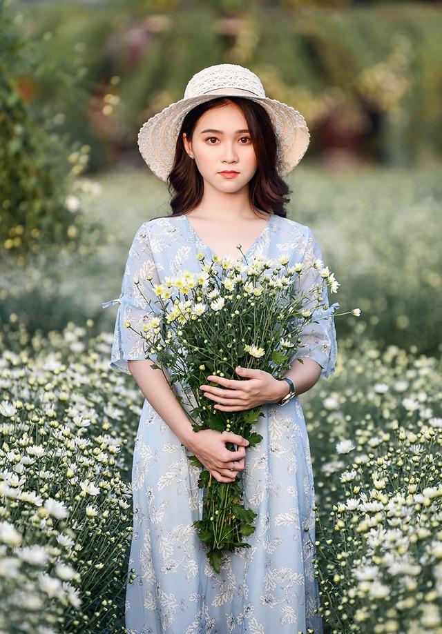 Đây là chùm ảnh cúc hoạ mi của Nguyễn Ngọc Anh - nữ sinh 18 tuổi
