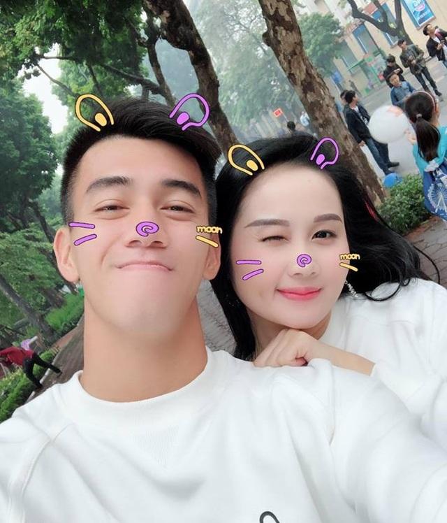 Một số hình ảnh hạnh phúc của cặp đôi Tiến Linh - Ngọc Quyên