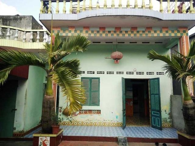Căn nhà anh Hoàng ở quê nhà.