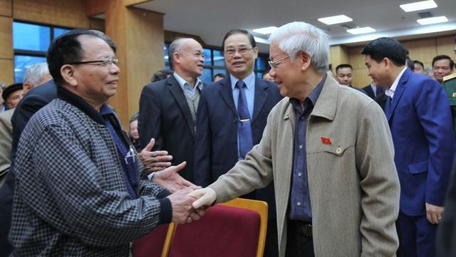 Tổng Bí thư, Chủ tịch nước Nguyễn Phú Trọng tiếp xúc cử tri quận Ba Đình, Tây Hồ