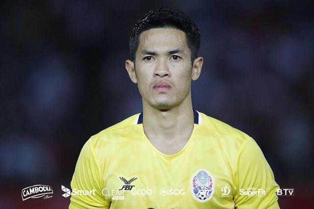 Thủ thành Vichet Um khẳng định Campuchia sẽ không chơi phòng ngự trước Việt Nam