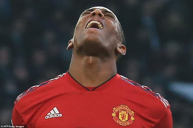 Sự thất vọng của Martial là sự thất vọng chung của Man Utd