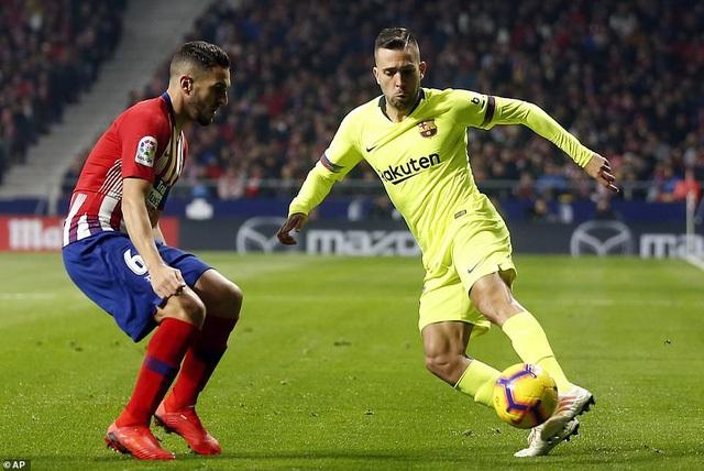 Jordi Alba và Koke, những đồng đội ở đội tuyển Tây Ban Nha
