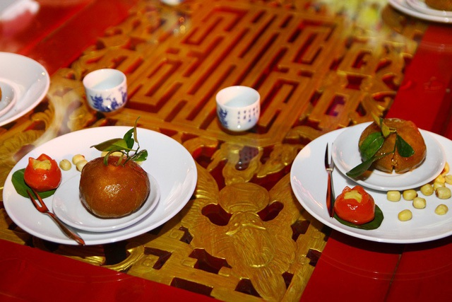 Các loại bánh trái dùng kèm theo trà