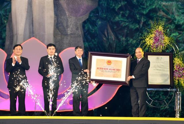 Thủ tướng trao quyết định chứng nhận địa điểm chiến thắng biên giới 1950 huyện Thạch An là di tích lịch sử cấp Quốc gia.