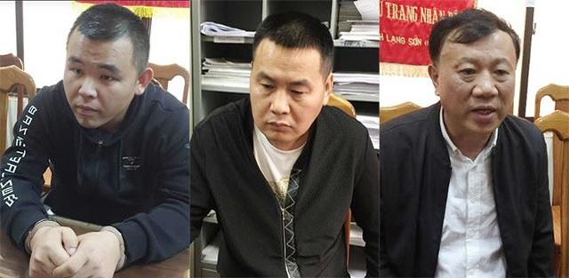 3 đối tượng tại cơ quan công an (ảnh QTV)